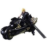 Cloud & Motorcycle Fenrir The Advent Children Final Fantasy VII Arts Play Arts Kai Action Figure Set