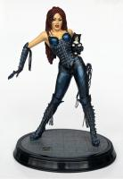 Lady Iin Leather The Paws and Claws Statue