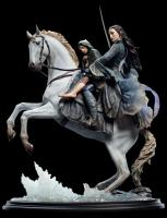 Arwen & Frodo on Asfaloth The Lord of the Rings Sixth Scale Statue Diorama z Pána Prstenů