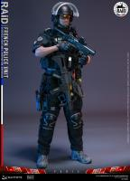 French Police Unit Member The RAID In Paris Sixth Scale Collector Figure