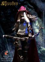 Sylvanas The Elf Archer - Shooter Sixth Scale Collector Figure