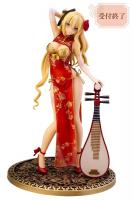 Jin-Lian Pchi-Pcha Lute Player Red Sexy Anime Figure