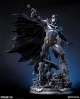 Batman Atop The Gremlins & Ruins Base Justice League New 52 Statue
