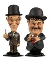 Stan Laurel & Oliver Hardy Bobble Head Gag
