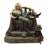 David Bowie As Jareth On The Throne Quarter Scale Statue
