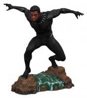 Unmasked Black Panther TChalla the Marvel Movie Gallery Statue