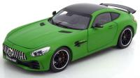 Mercedes AMG GT R Coupé 2017 Matt Green 1/18 Die-Cast Vehicle