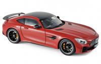 Mercedes AMG GT R Coupé 2018 Red 1/18 Die-Cast Vehicle