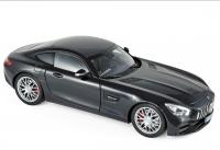 Mercedes AMG GT S Coupé 2018 Black Metallic 1/18 Die-Cast Vehicle