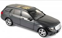 Mercedes C-Klasse Estate 2014 Grey Metallic 1/18 Die-Cast Vehicle