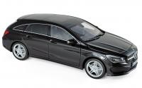 Mercedes CLA-Klasse Shooting Brake 2015 Black 1/18 Die-Cast Vehicle