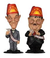 Stan Laurel & Oliver Hardy The Sons of the Desert Bobble Head Gag