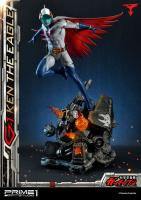 Ken Washio The Eagle As Jet fighter G-1 Pilot Gatchaman Quarter Scale Statue