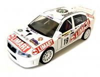 Škoda Octavia WRC No. 19 Barum Rallye Zlin 2003 Racing Livery 1/18 Die-Cast Vehicle model auta Skoda
