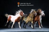 Liaodong In Dynamic Pose Ming Dynasty The Mongol Cavalier Horse For Sixth Scale Figure