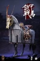 IRON PAGODA The JURCHEN JIN DYNASTY Cavalry Armored Horse For Sixth Scale Figure