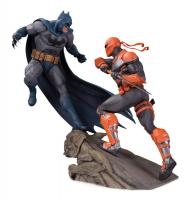 Batman And Deathstroke DC Comics Battle Statue Diorama