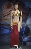 Princess Leia Solo Slave Outfit Star Wars Six Scale Collector Figure Hvězdné války