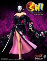 SHI 死 Kireina In Kimono The U.S. Sixth Scale Collector Figure