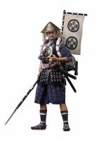 General Ashigaru-Taiko 2.0 The Oda Nobunaga Army Warrior And Flag Sixth Scale Collector Figure