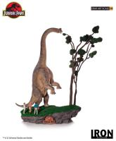 Welcome to Jurassic Park The Brachiosaurus & Paleontologists  Demi Art Scale 1/20 Statue Diorama