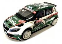 Škoda Fabia S2000 Facelift No. 1 Rallye Monte Carlo 2011 Racing Livery 1/18 Die-Cast Vehicle model auta Skoda