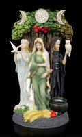 Celtic Trinity The Celtic Goddess Cycle of Life Premium Figure Diorama
