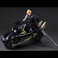 Cloud And Motorcycle Fenrir The Final Fantasy VIII Play Arts Kai Figure