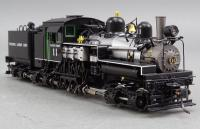Pacific Coast Shay 3327 #11 F/P HO Scale Brass Logging Steam Locomotive & Tender