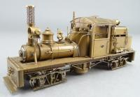 Mich. - Cal. Lumber Co. Shay #2 HO Scale Brass Logging Steam Locomotive