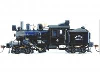 CLIMAX 50-Ton Two-Truck #4 HO Logging Steam Locomotive DCC Equiped / Sound Ready