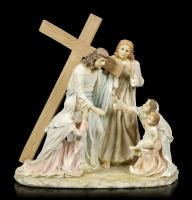 Jesus Christ On the Way Of Cross Premium Figure Diorama