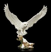 Snowy Owl In Flight Premium Figure