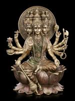 Gayatri Mantra The Indian Goddess Bronzed Premium Figure