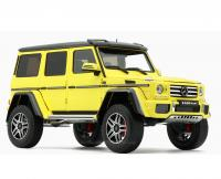 Mercedes-Benz G500 4×4² Yellow 1/18 Die-Cast Vehicle