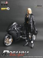 Rosanna And Motor Bike Sixth Scale Collector Figure Set