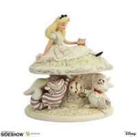 Alice in Wonderland The White Woodland Figure Diorama