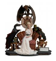 Emilia Clarke As Daenerys Targaryen - Mother of Dragons The Game of Thrones Quarter Scale Statue Diorama