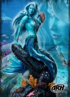 Sharleze The Mermaid ComiX Blue Skin Quarter Scale Statue