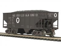 Keystone Coal & Coke USRA #80-97089 HO 55-Ton Steel 2-Bay Open Hopper Car