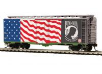 Kansas City Southern (Veterans - U.S. POW-MIA)  #85-74177 HO  40ft PS-1 Box Car