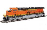 Burlington Northern Santa Fe #7054 HO ES44AH GE Evolution Series GEVO Diesel Locomotive ESU(R) Sound & DCC