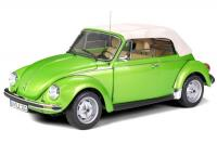 Volkswagen VW Brouk (Käfer) 1303 Soft Top Cabriolet Light Green 1/8 Die-Cast Vehicle