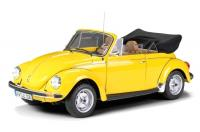 Volkswagen VW Brouk (Käfer) 1303 Cabriolet Yellow 1/8 Die-Cast Vehicle