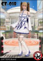Lolita Maid The Female White Costume Sixth Scale Collector Figure