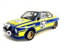 Škoda 130 RS No. 57 Barum Rally Šumava 1978 Racing Livery 1/18 Die-Cast Vehicle model auta Skoda