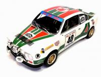 Škoda 130 RS No. 48 Alitalia Design Rallye Tatry 1980 Racing Livery 1/18 Die-Cast Vehicle model auta Skoda