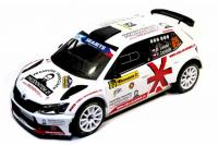 Škoda Fabia R5 No. 65 Barum Rally Zlín 2016 Racing Livery 1/18 Die-Cast Vehicle model auta Skoda