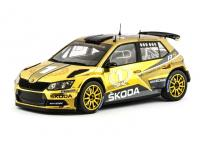 Škoda Fabia R5 Gold Edition 1/18 Die-Cast Vehicle model auta Skoda