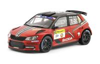 Škoda Fabia R5 No. 2 Barum Rally Zlín 2016 Racing Livery 1/18 Die-Cast Vehicle model auta Skoda